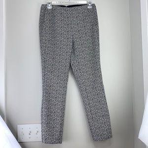 Rag & Bone Simone Leopard Print Skinny Pants Sz 8